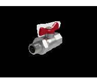 "Кран шаровый Royal Thermo Optimal 1/2"" НГ, ручка-бабочка"